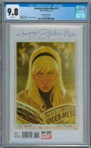 Amazing Spider-man #14 Phil Noto Gwen Stacy Variant CGC 9.8 Marvel comic book